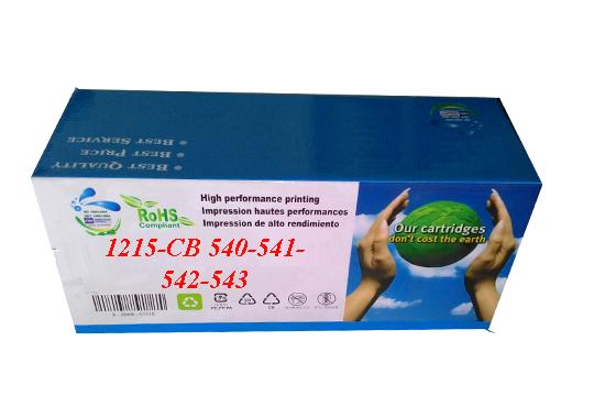Hộp mực in laser màu HKC 1215 B/C/M/Y (Cartridge CB 540-541-542-543)
