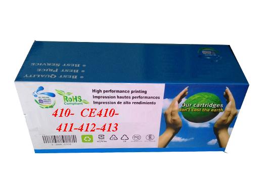 Mực in Laser màu HKC 305A (Cartridge CE410A-411A-412A-413A) - Dùng cho HP M375nw/ M451dn/ M451dw/ M451nw/ M475dn/ M452dn/ M452dw